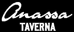 Anassa Taverna White Logo